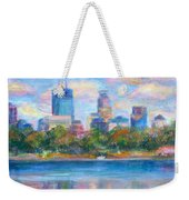Downtown Minneapolis Skyline From Lake Calhoun Weekender Tote Bag