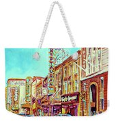 Downtown Montreal Weekender Tote Bag