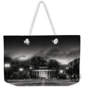 Downtown Murphy Nc In Black And White Weekender Tote Bag