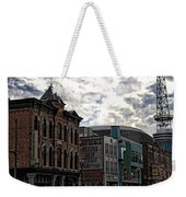 Downtown Nashville Weekender Tote Bag