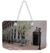 Downtown New Haven Connecticut Weekender Tote Bag