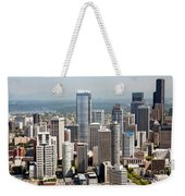 Downtown Seattle Weekender Tote Bag