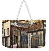 Downtown Silver Plume Weekender Tote Bag