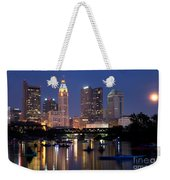 Downtown Skyline Of Columbus Weekender Tote Bag