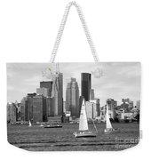 Downtown Skyline Of Toronto On Weekender Tote Bag
