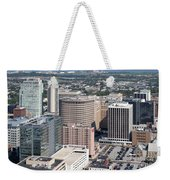 Downtown Skyline Of Wilmington Weekender Tote Bag