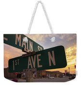 Downtown State Center Weekender Tote Bag
