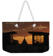 Downtown Sunrise Weekender Tote Bag