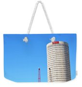 Downtown Tampa Photography - Leaning Tower Of Sykes - Sharon Cummings Weekender Tote Bag