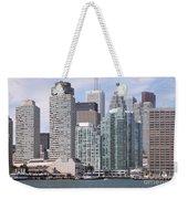 Downtown Toronto Ontario Weekender Tote Bag