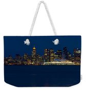 Downtown Vancouver At Night  Weekender Tote Bag