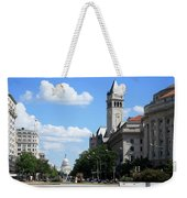 Downtown Washington Weekender Tote Bag