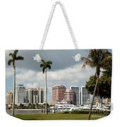Downtown West Palm Beach Weekender Tote Bag