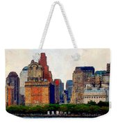Downtown With Edward Weekender Tote Bag