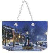 Downtown Woodstock Weekender Tote Bag