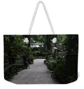 Downward Sloping Part Inside The National Orchid Garden In Singapore Weekender Tote Bag