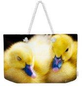 Downy Ducklings Weekender Tote Bag