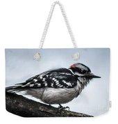 Downy Woodpecker 3 Weekender Tote Bag
