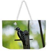 Downy Woodpecker 7448 Weekender Tote Bag