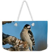 Downy Woodpecker Pictures 23 Weekender Tote Bag