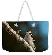 Downy Woodpecker Pictures 25 Weekender Tote Bag