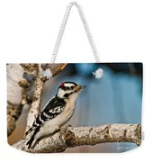 Downy Woodpecker Pictures 34 Weekender Tote Bag