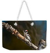 Downy Woodpecker Pictures 36 Weekender Tote Bag