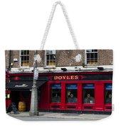 Doyles The Times We Live Inn - Dublin Ireland Weekender Tote Bag