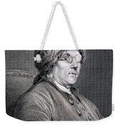 Dr Benjamin Franklin Weekender Tote Bag
