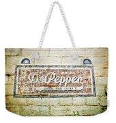 Dr Pepper-good For Life Weekender Tote Bag