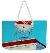 Dr Pepper Sign Roanoke Virginia Weekender Tote Bag