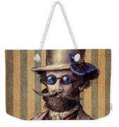 Dr. Popinjay Weekender Tote Bag by Eric Fan