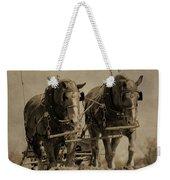 Draft Horses Weekender Tote Bag