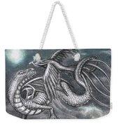 Dragon And Phoenix Weekender Tote Bag