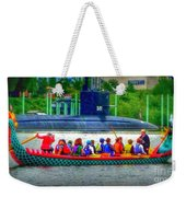 Dragon Boat Challenges Submarine  Weekender Tote Bag