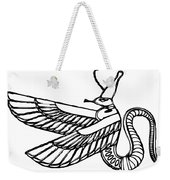 Dragon - Demon Of Ancient Egypt Weekender Tote Bag