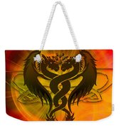 Dragon Duel Series 3 Weekender Tote Bag