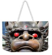 Dragon Face Weekender Tote Bag