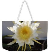 Dragon Fruit Bloom In The Morning Weekender Tote Bag