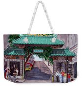 Dragon Gate Weekender Tote Bag