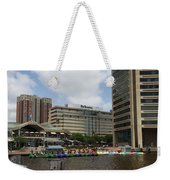 Dragonboats - Inner Harbor Baltimore Weekender Tote Bag