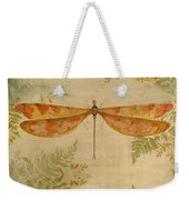 Dragonflies Among The Ferns-12415 Weekender Tote Bag