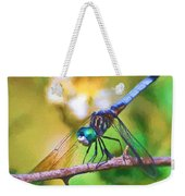 Dragonfly Art - A Thorny Situation Weekender Tote Bag