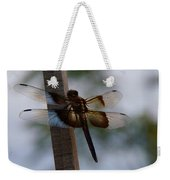 Dragonfly At Rest Weekender Tote Bag