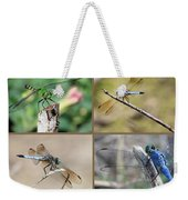 Dragonfly Collage 3 Weekender Tote Bag