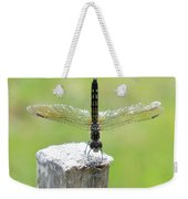 Dragonfly Doing A Handstand Weekender Tote Bag