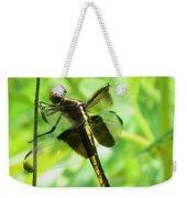 Dragonfly Female Widow Skimmer Weekender Tote Bag