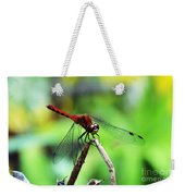 Dragonfly Hard At Work Weekender Tote Bag
