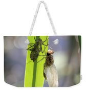 Dragonfly Metamorphosis - Fifth In Series Weekender Tote Bag