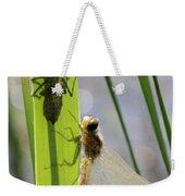 Dragonfly Metamorphosis - Seventh In Series Weekender Tote Bag